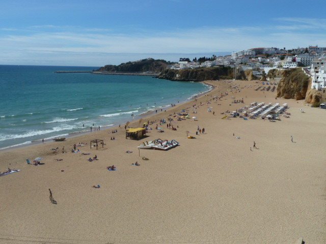 Your local & beautiful, Albufeira Fisherman's beach & town