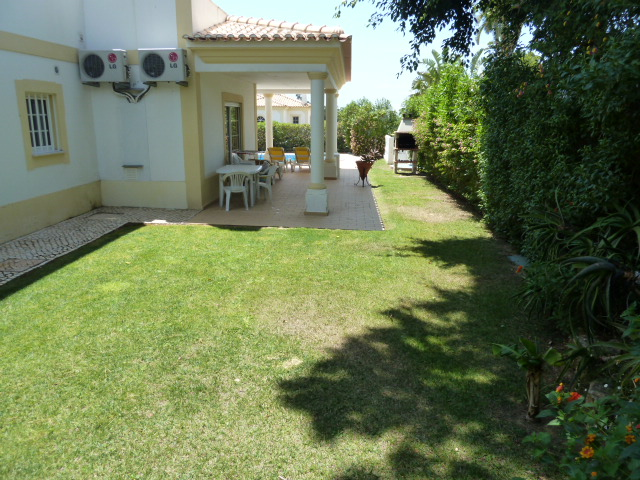 Enjoy the villa's lovely private gardens & lawn areas for relaxing or playing...