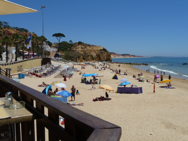 Olhos Agua! Local, beautiful fisherman's beach, town and La Cigale restaurant.