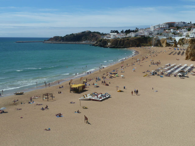 The lively & colourful Albufeira fisherman's beach, is a very short drive away.