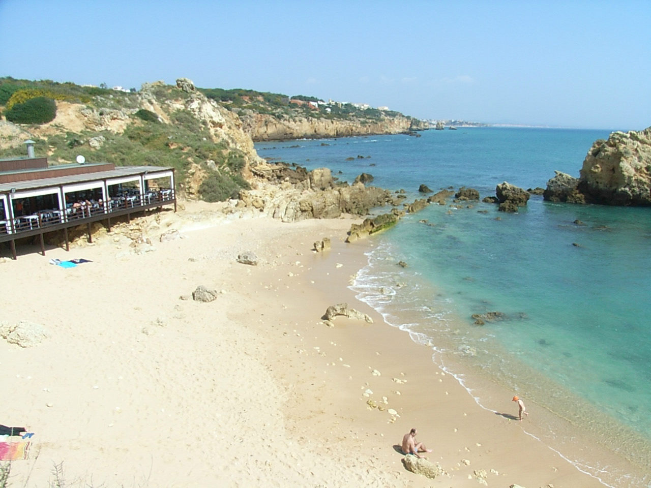 Arrifes beach in Sao Rafael/Albufeira is our favourite hideaway Blue Flag Beach.