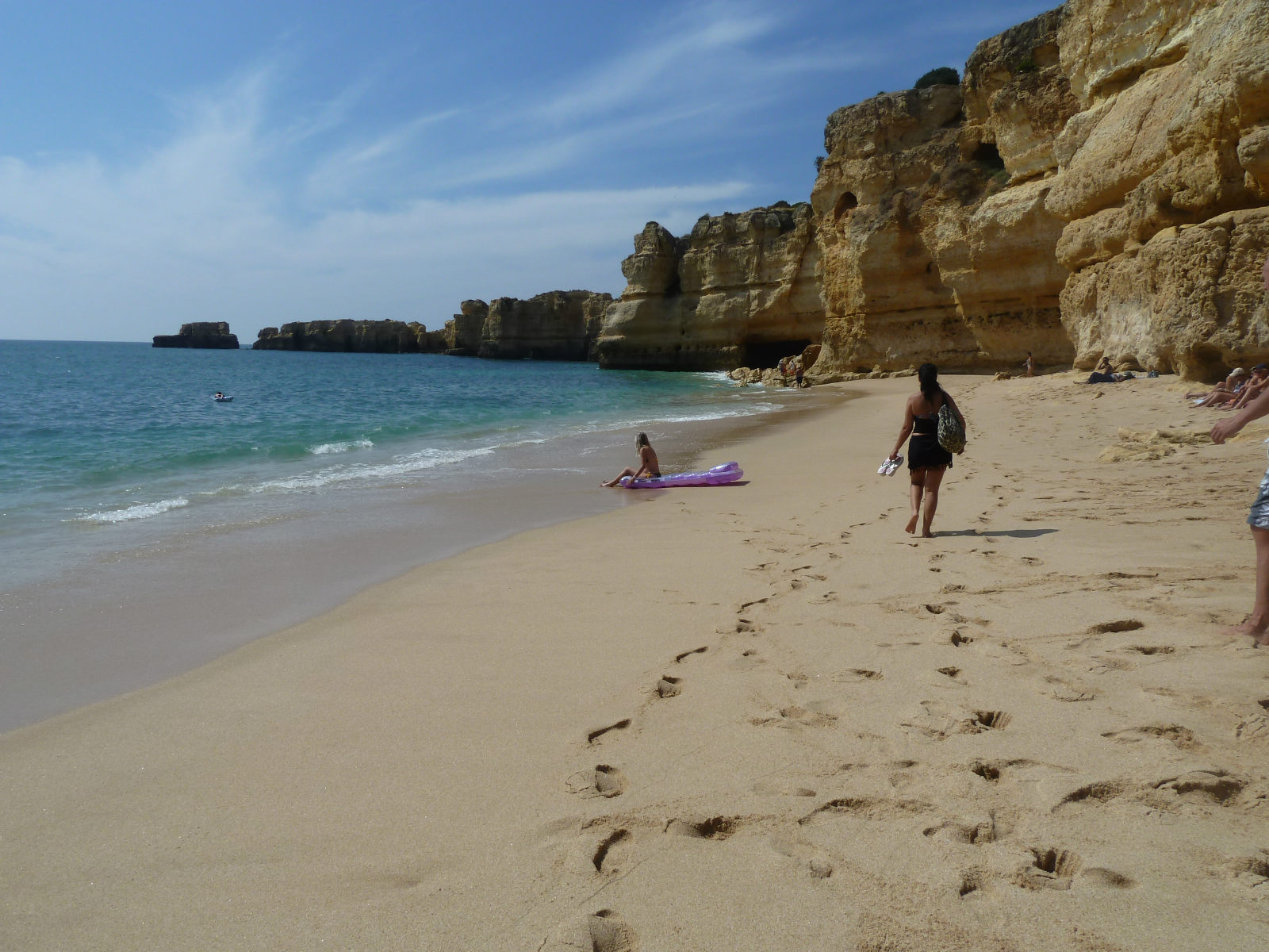 Coelha beach. One of many Blue Flag Beaches in Albufeira's Gale & Sesmarias.