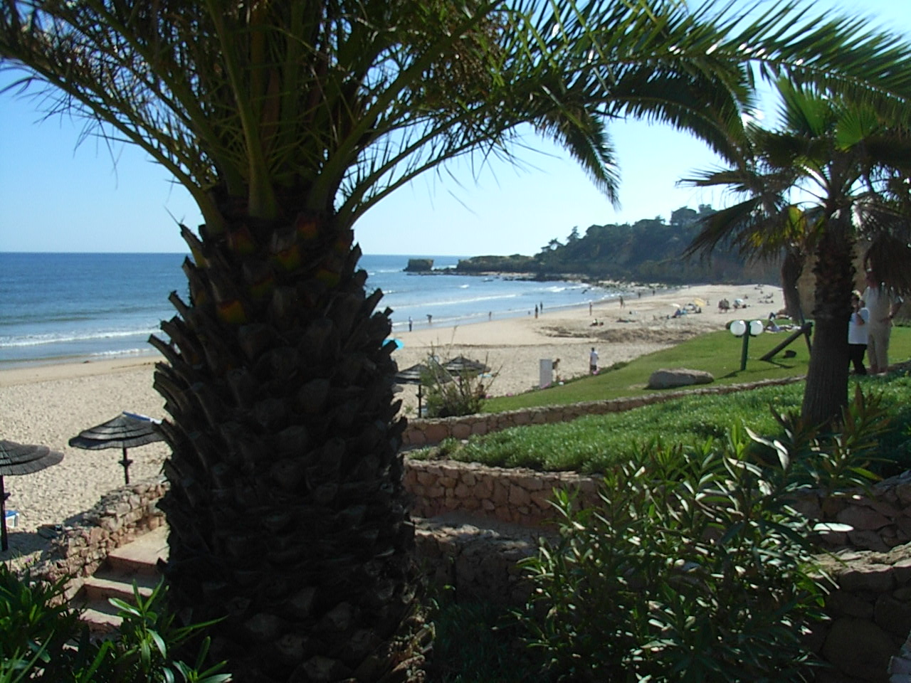 East of the villa. The picture postcard beach of Santa Eulalia is worth a visit.