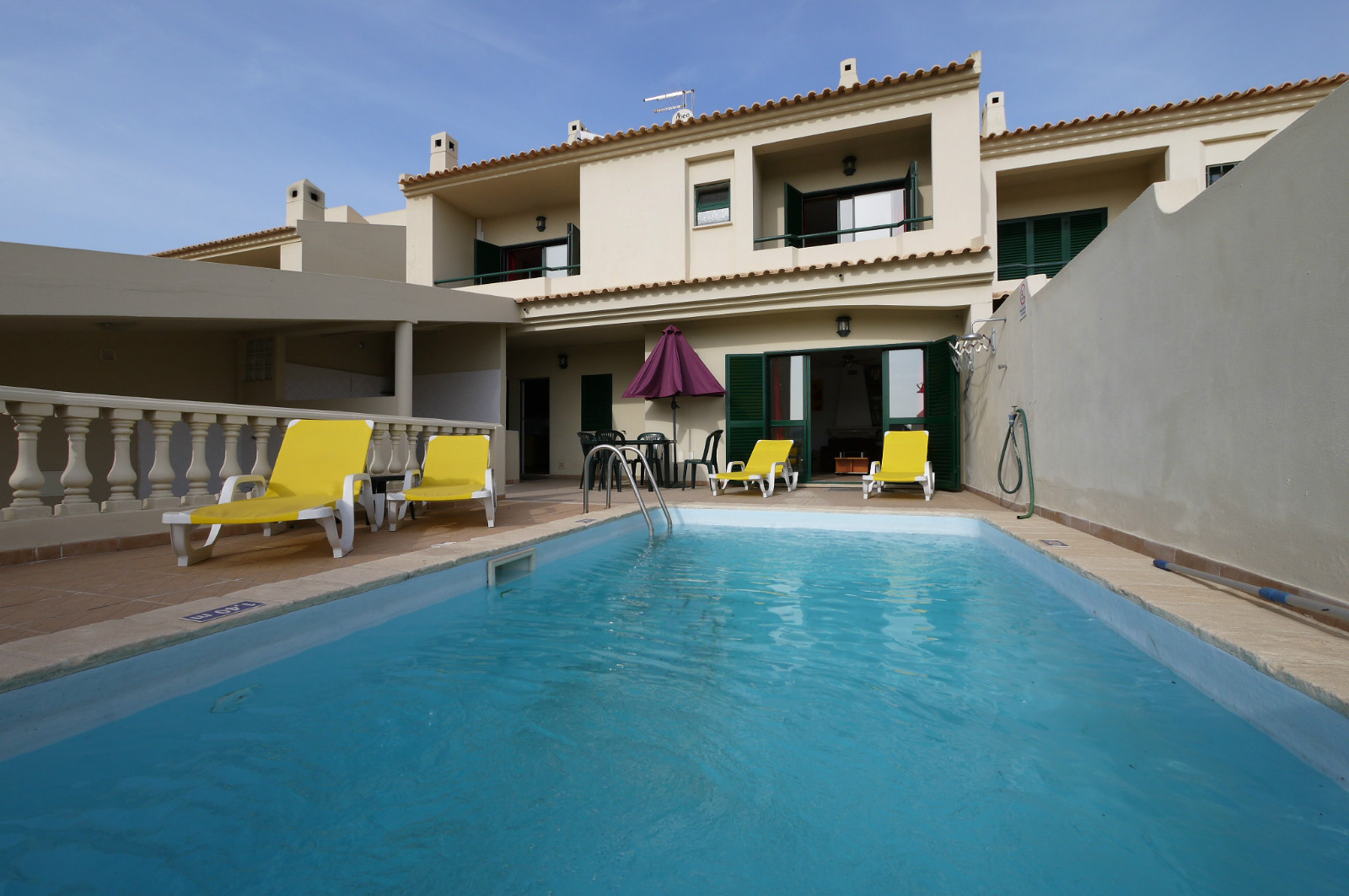 Villa A/C, 2 Bedrooms villa with always sunny, south facing pool & pool terrace.