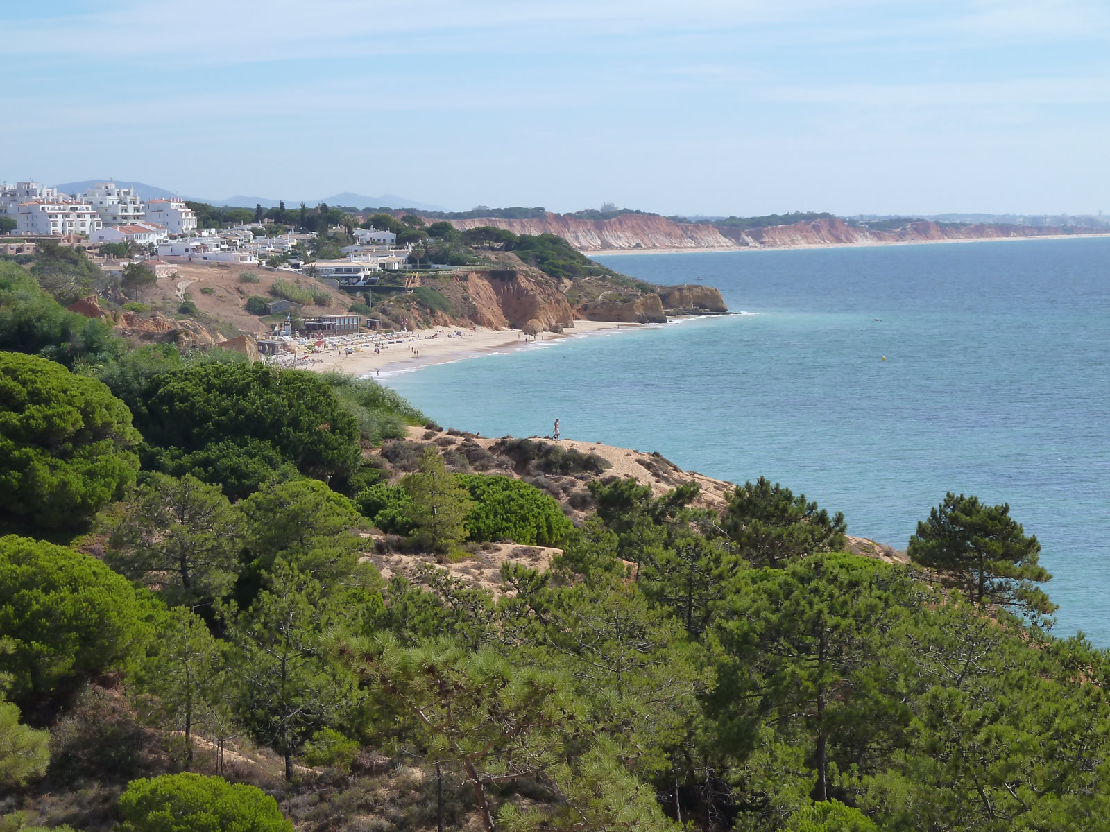 West of Albufeira, the beautiful coastline continues, with many superb beaches.
