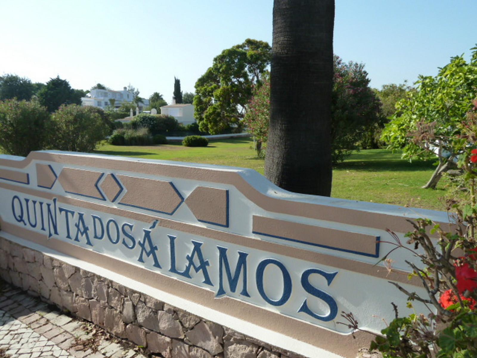Beautiful Quinta dos Alamos is a joy of a place to stay with many green areas.
