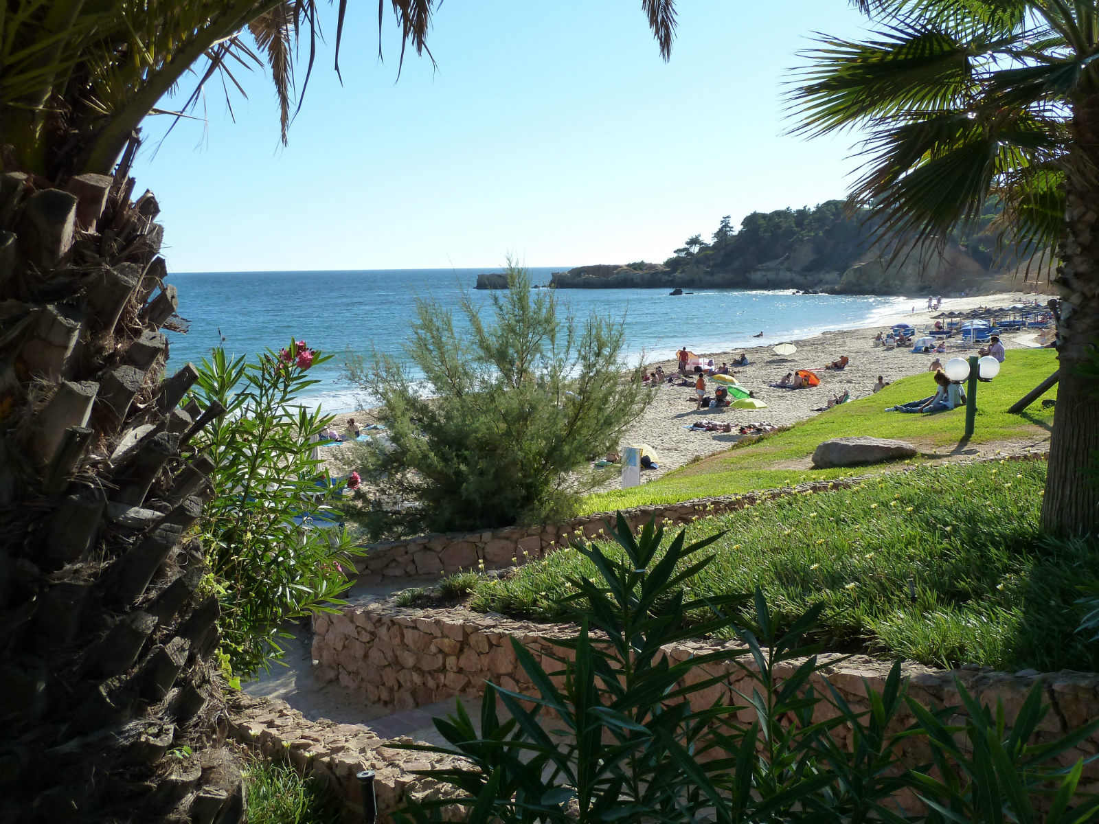 The stunning, picture postcard Santa Eulalia beach