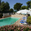 Very private villa, pool & terrace with lovely flowers, plants & shrubs.