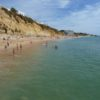 Albufeira Old town, there is also, this long stretch of  beautiful beach.