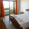 1st floor double bedroom with a private terrace, overlooking pool and terrace.