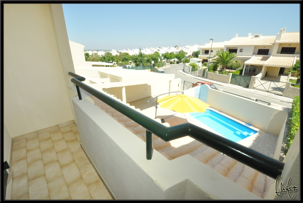 The twin bedroom terrace also has, great all round views.