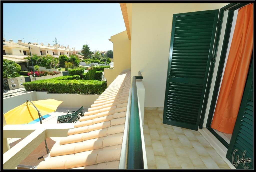 Great all round views, to be enjoyed from the double bedroom, private terrace.