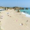 Sao Rafel Beach is a must visit Blue Flag beach, west of Albufeira Marina.