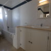 1st floor, shared full bathroom, with bath & hand rail, mirror, basin & w.c.
