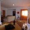 Cozy, light, bright spacious lounge/dining area.