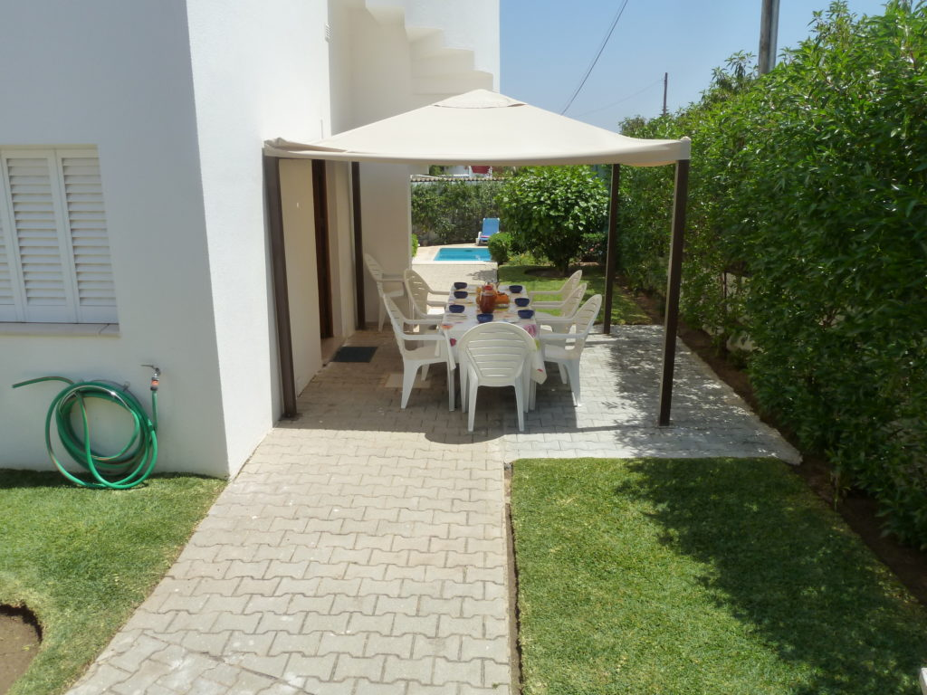 Enjoy the private outdoor dining besides the kitchen and BBQ.