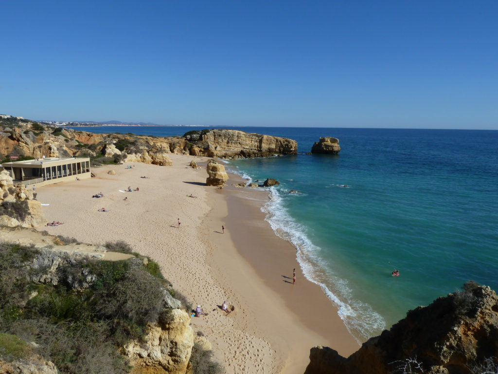 West of Albufeira Marina. Gale's Coastline. Praia de Sao Rafael, A very beautiful beach along this coast.