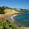 Praia dos Aveiros 'Beautiful Blue Flag Beach' A hidden beach located near Praia da Oura.