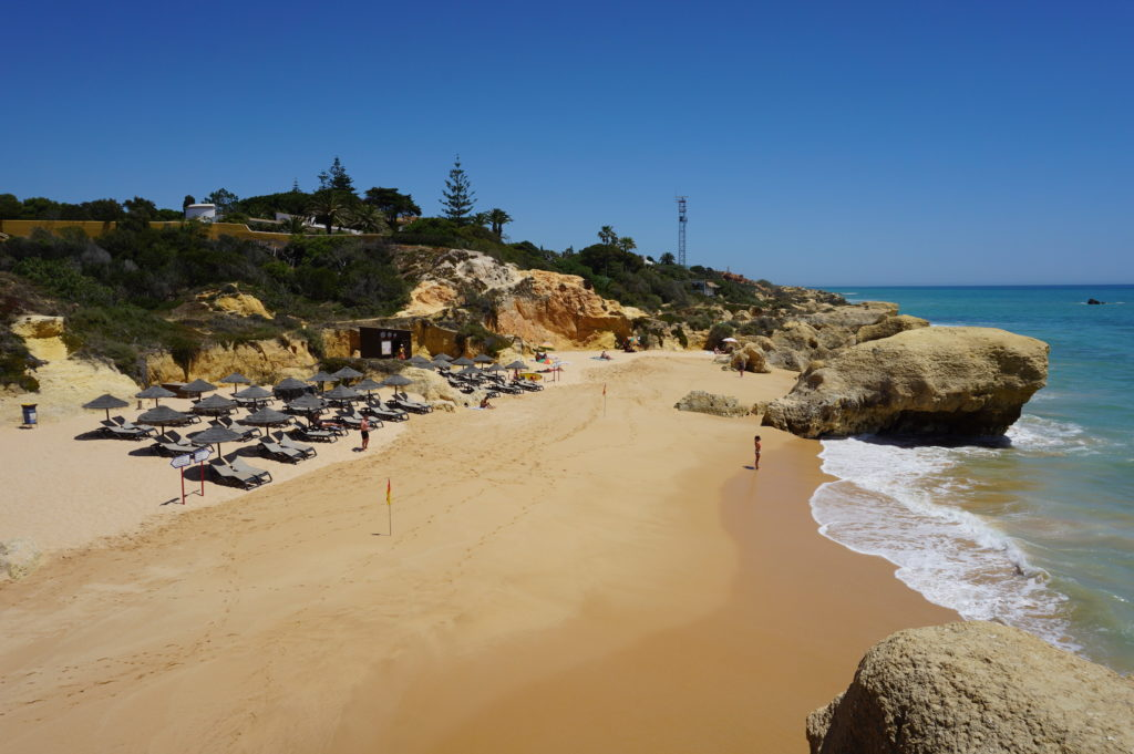 West of Albufeira Marina, Gale Coastline. The beaches are equally beautiful with 'Blue Flag Beaches''.