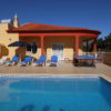 Very private villa & large pool, also gated and fenced for extra security to children.