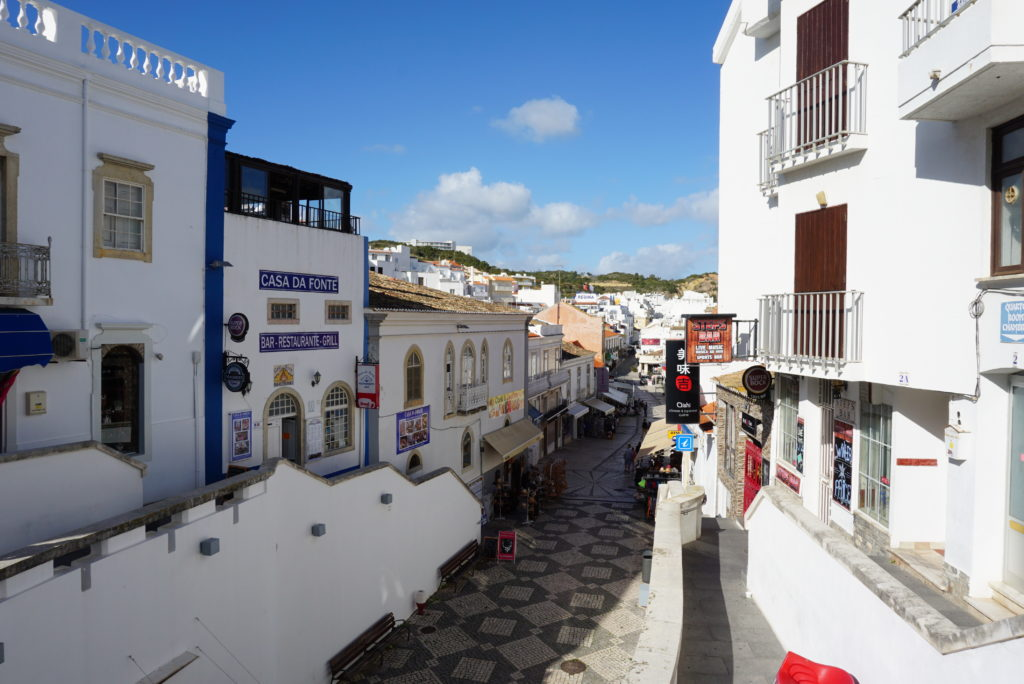 Albufeira Old town with many lively bars and clubs. 3.4 km.