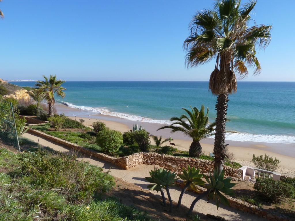 East of Albufeira Old Town. Enjoy many beautiful beaches, including the popular Praia Santa Eulalia 'Blue Flag Beach'