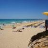 West of Albufeira Marina. Gale's coastline & another of the many nearest beaches to Villa Ana. Praia da Gale 'Blue Flag Beach'.