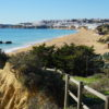 East of Albufeira Old Town. Enjoy these superb Sao Joao/Praia dos Alemaes 'Blue Flag Beach' beautiful views, overlooking Albufeira Old Town, with constant dolphins sightings.