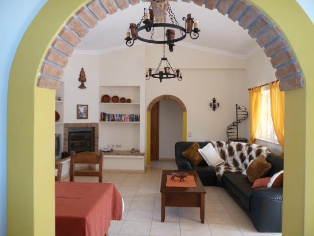 The lovely Villa Ana