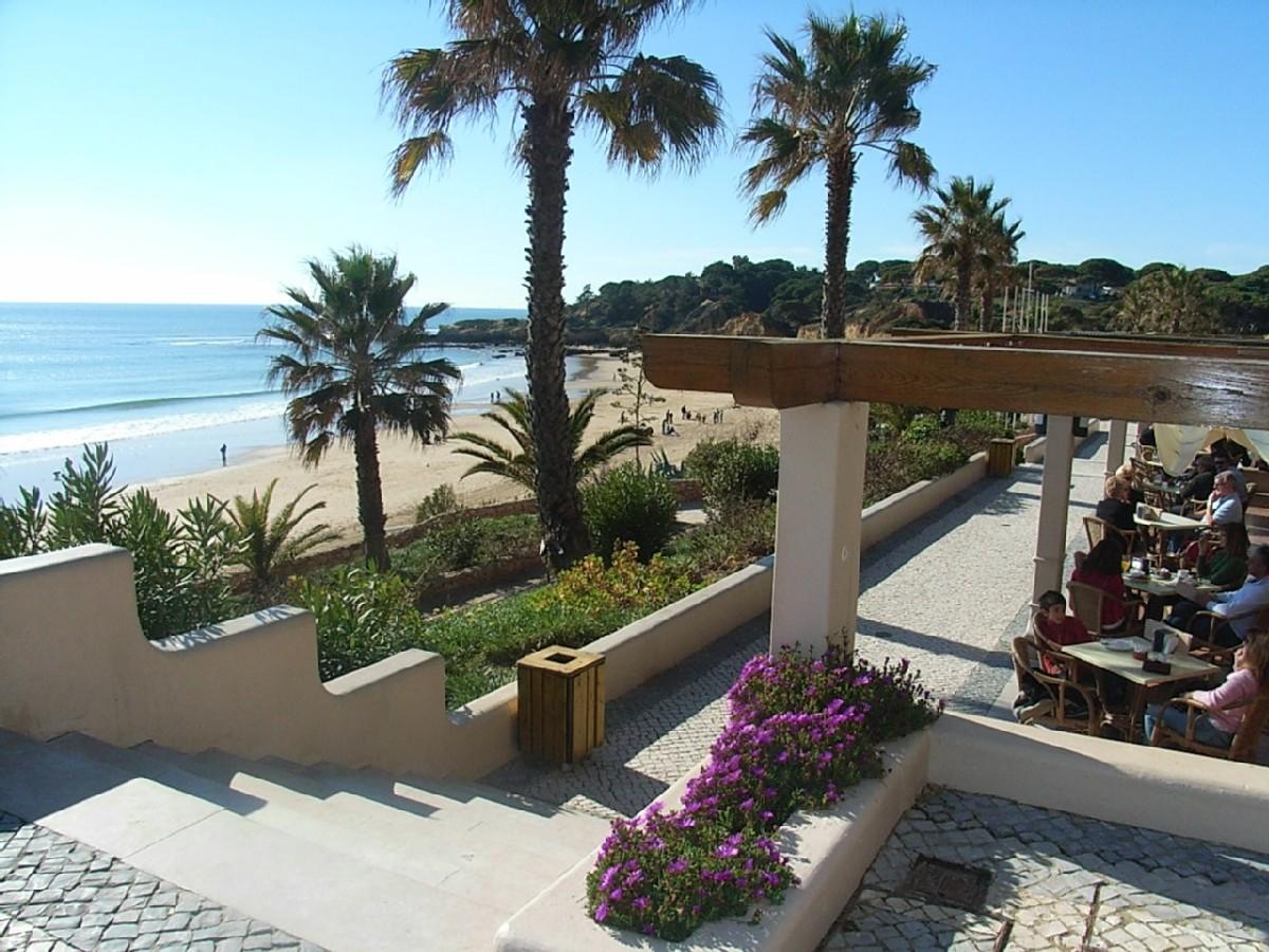 Santa Eulalia. The local, picture postcard beach.