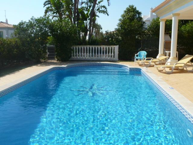 Beautiful large, very private pool, wide walk-in steps & optional pool heating.