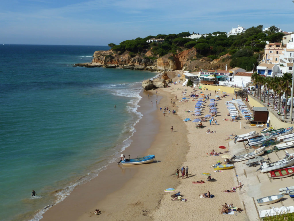Another of your local picture postcard beach- Olhos Agua. Only 1.4 km from villa