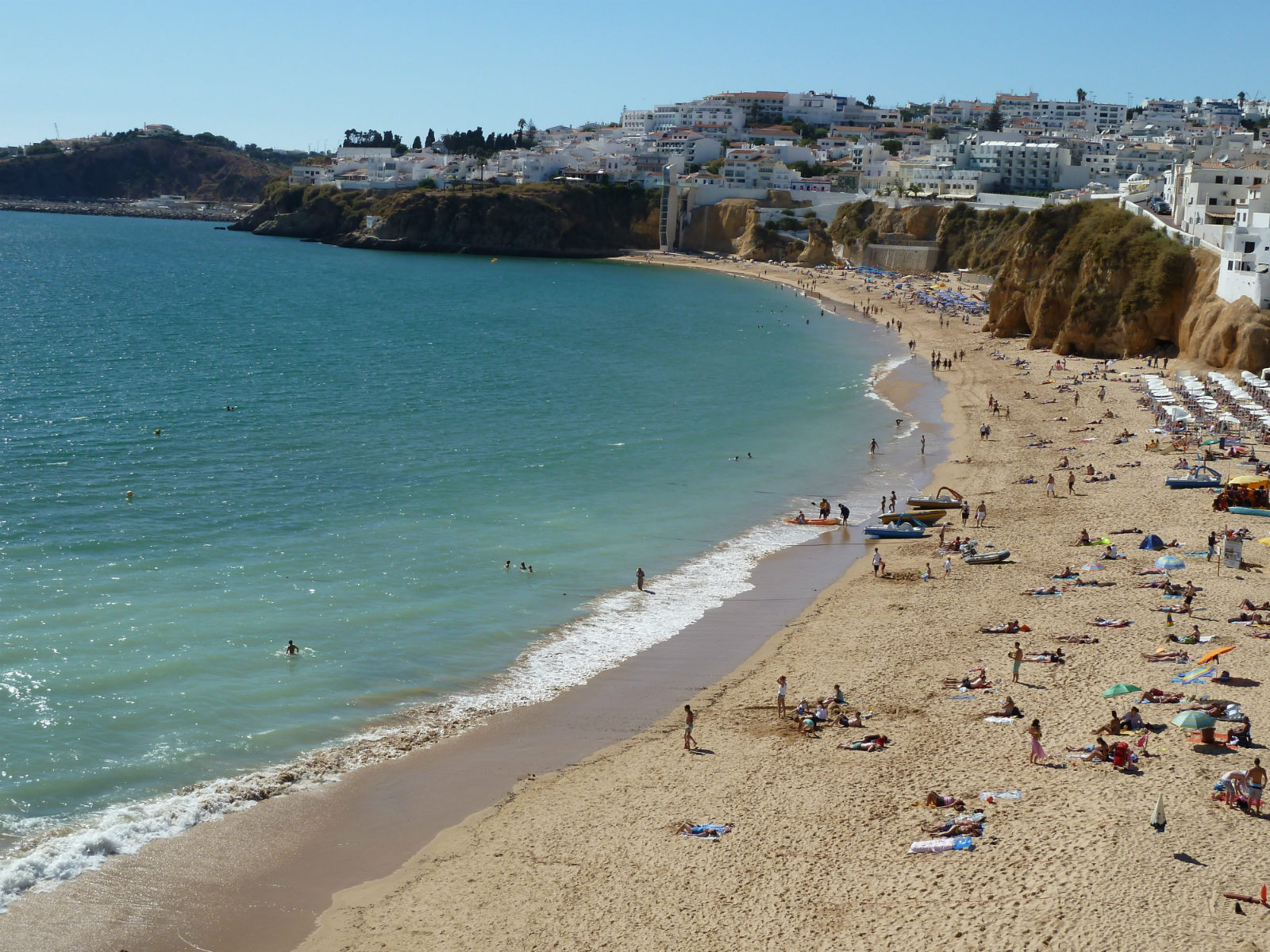 Albufeira! Fishermans beach, only 5 km away
