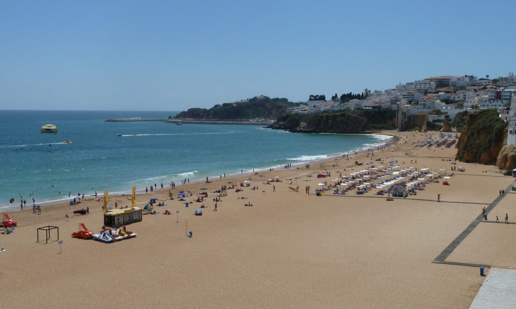 Your Local: The famous, lively & beautiful Albufeira Fishermans beach