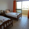 1st floor, spacious twin bedroom with cable TV, and private terrace.