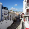 The lively & colourful Albufeira Old town with many lively bars with easy walking distance.