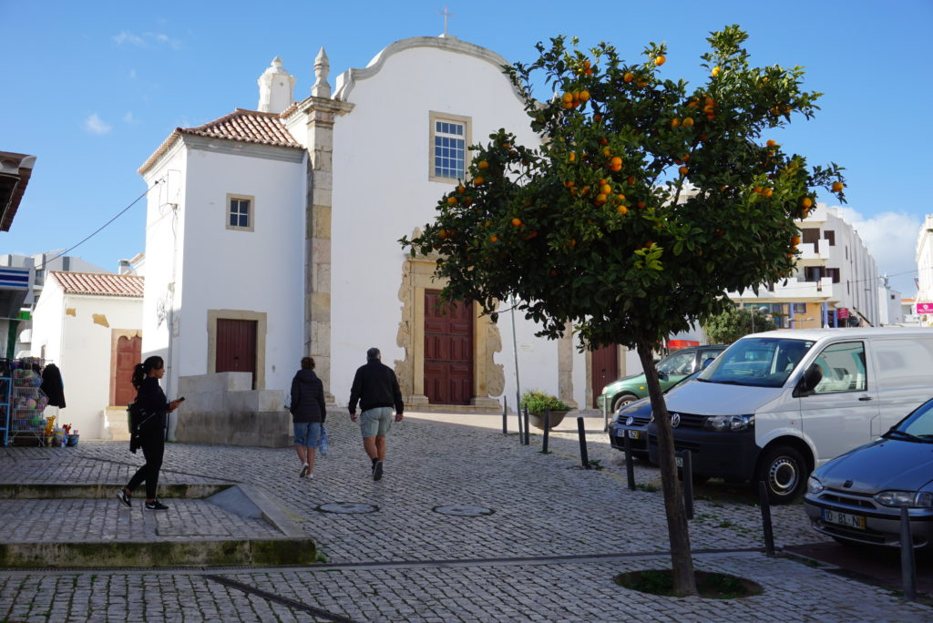 The nearby, lovely Albufeira Old town has many churches & lots of great views.