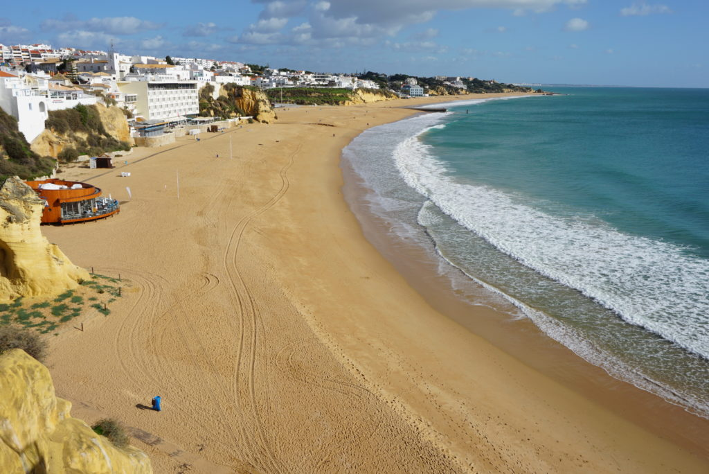 Easy walk to Albufeira old town has great all round high views from its original cobbled streets.