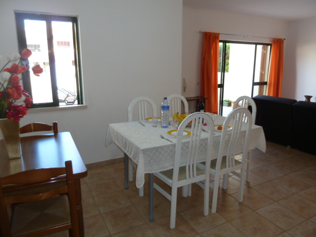 Very spacious, light and bright lounge/dinning area overlooking terrace & pool.