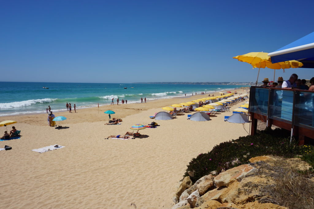 The beautiful and long 'Blue Flag' Gale beach ideal for sunbathing and long walks.