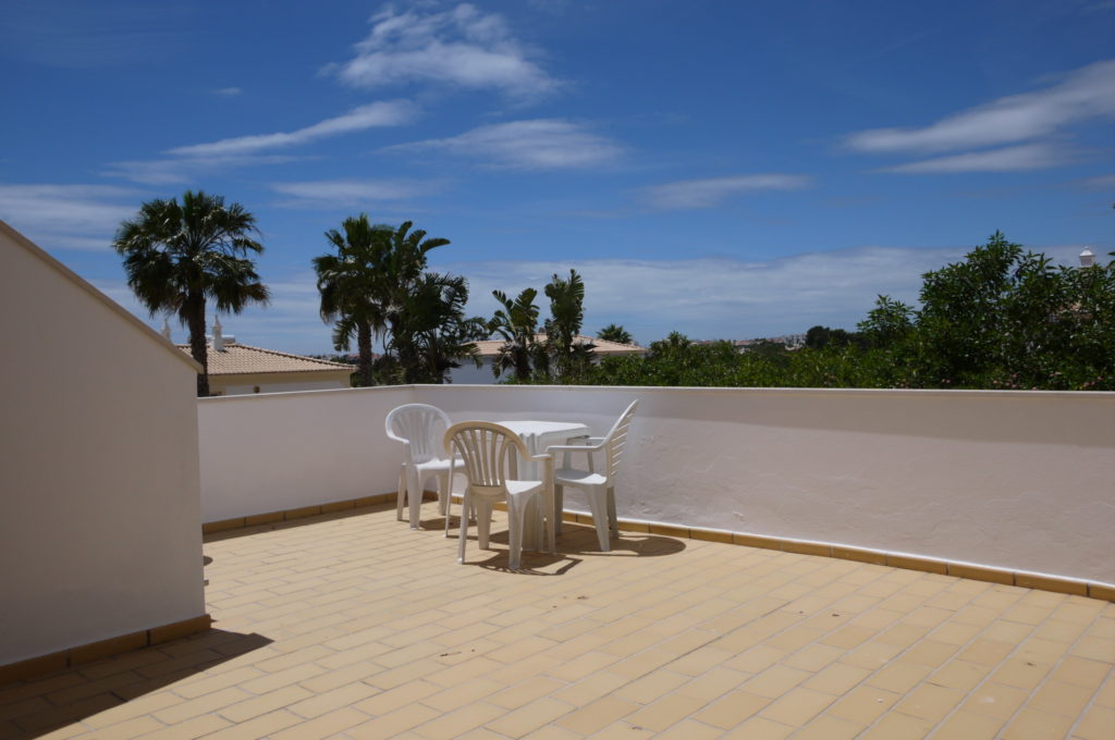Beautiful land and sea views from the 1st floor bedrooms terrace.