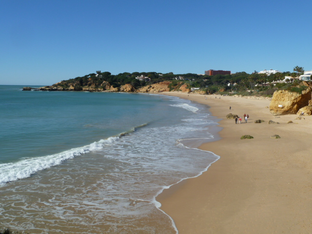 Your local, sandy Santa Eulalia 'Blue Flag Beach'. 1.6km.