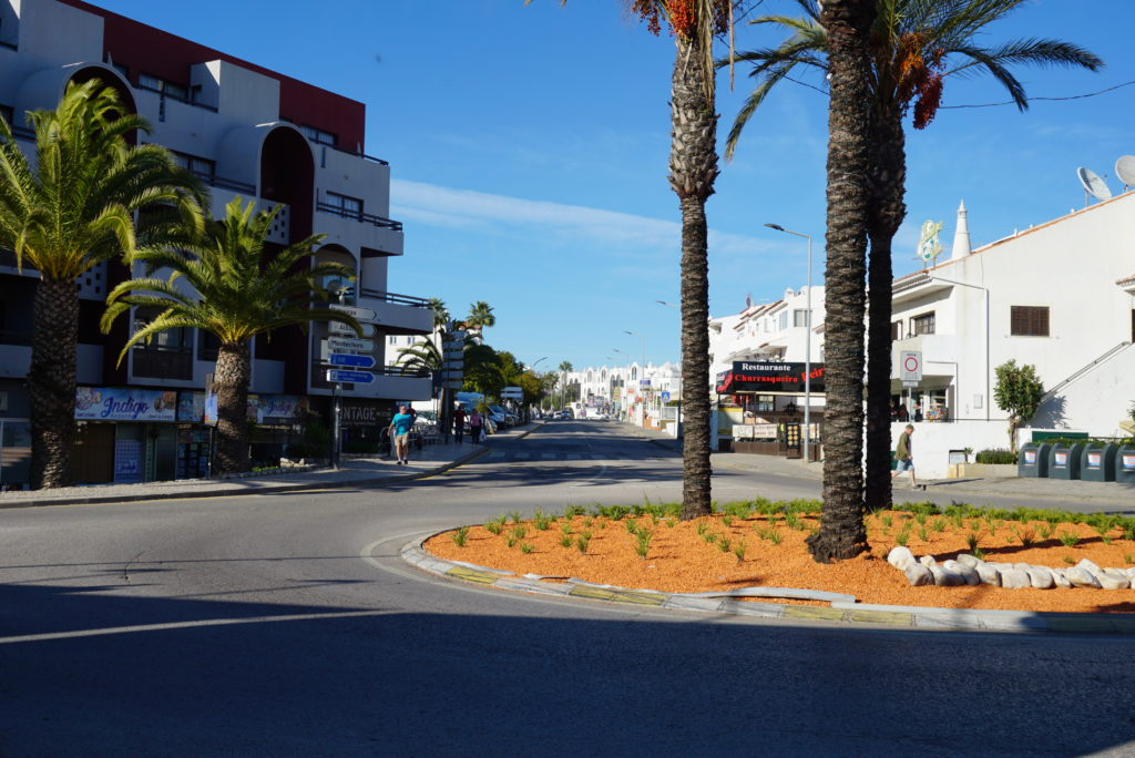 Santa Eulalia street full of restaurants, supermarkets, shops, bars. Is only 700 metres from Quinta da Balaia reception& roundabout.