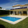 Villa Borboleta is a very spacious and very private villa with lots of lawn areas, lovely flowers & very sunny pool.