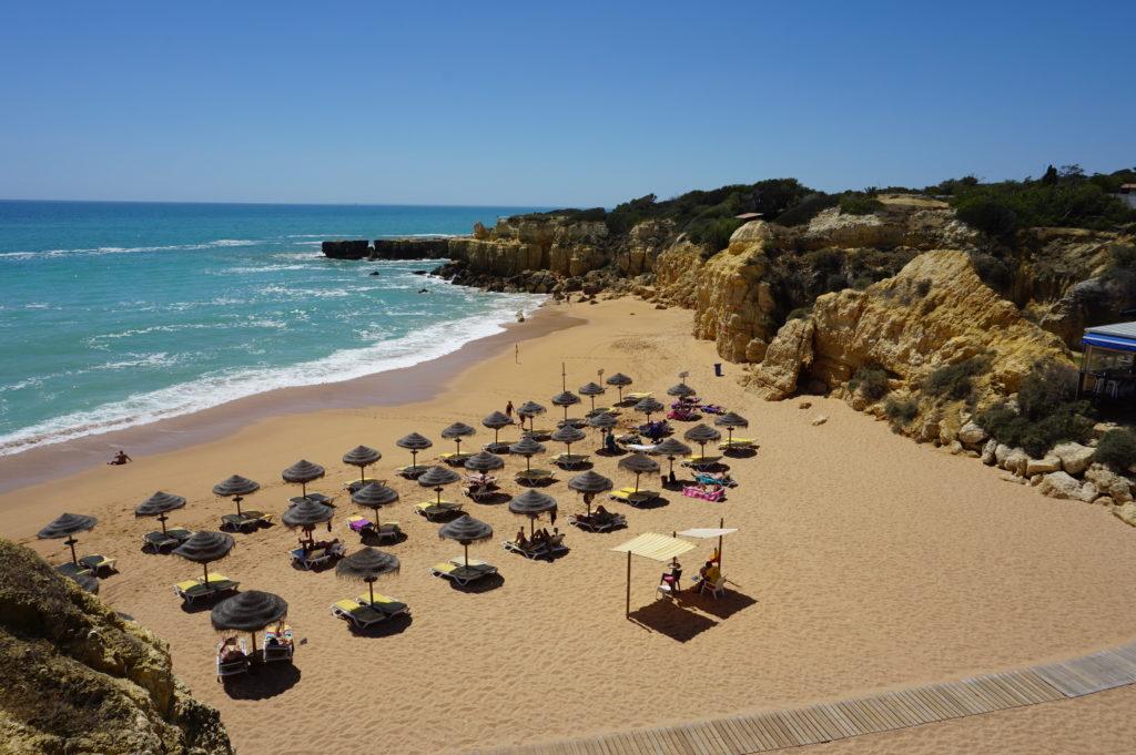 Praia do Castelo 'Blue Flag Beach'.