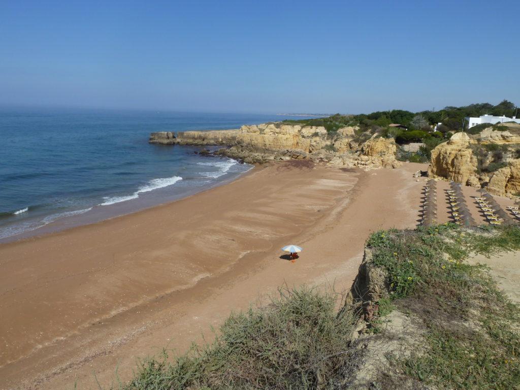 Praia do Castelo. 'A Blue Flag Beach'.