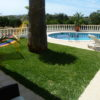 Villa Pateo. Spacious and relaxing south facing pool area.