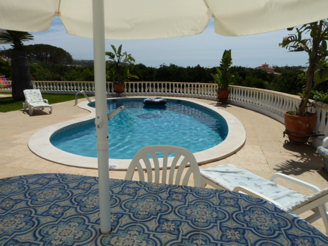 Villa Pateo beautiful pool area with many features.