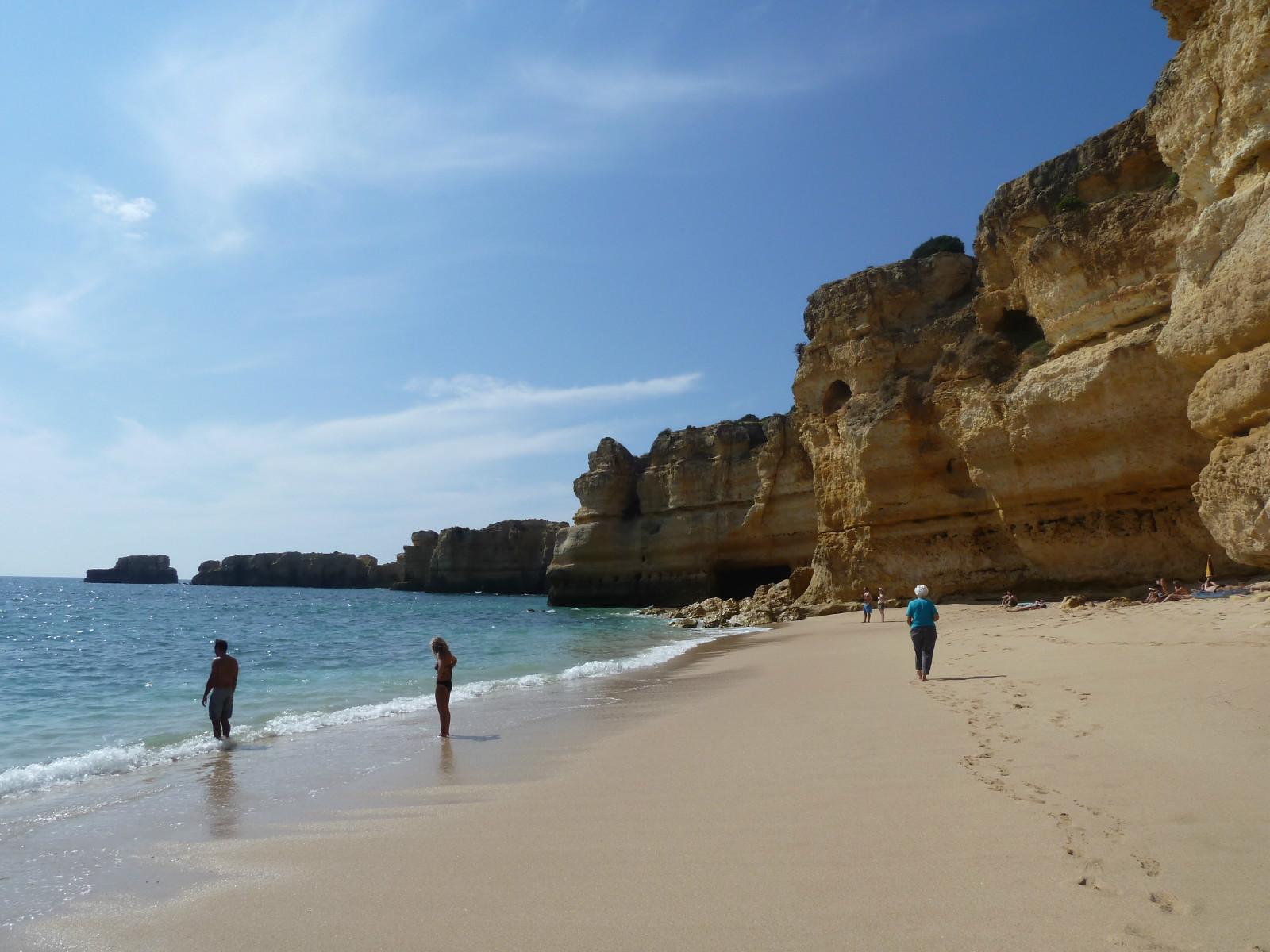 Praia da Coelha. A Blue Flag Beach'