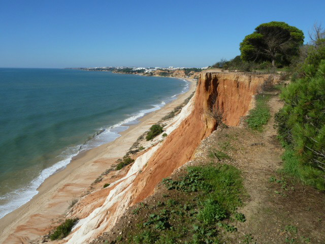 Praia da Falesia. 'Blue Flag Beach'. Voted 3rd Best Beach in the World.